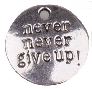 never never give up bedel