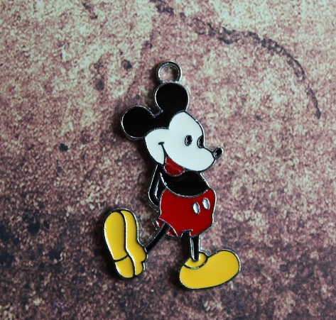 Emaille retro Mickey Mouse