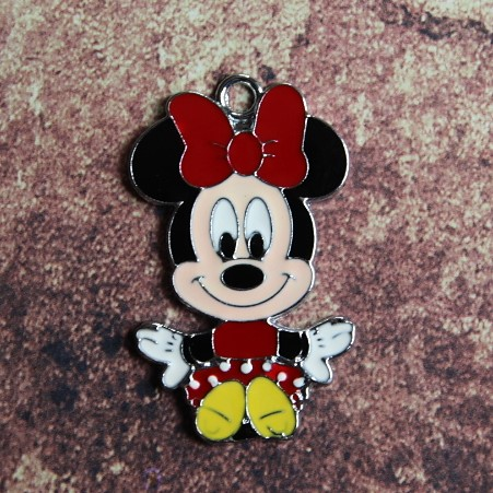 Emaille baby Minnie Mouse