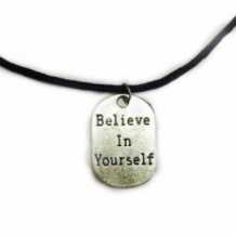 ''Believe in yourself'' koordketting