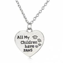 all my children have paws ketting
