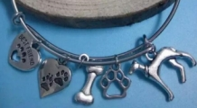 bedelarmband 'best friend' met galgo