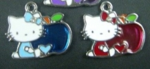 emaille hanger, hello kitty,