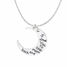 I love you to the moon and back ketting