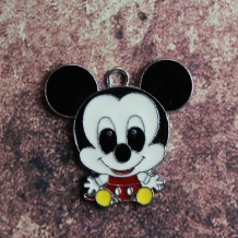 Emaille baby Mickey Mouse