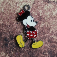 Emaille retro Minnie Mouse