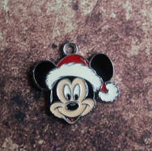 Emaille kerst Mickey Mouse