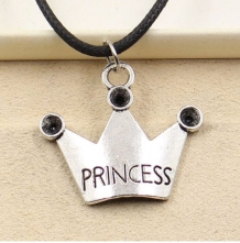 prinses koordketting met kroon
