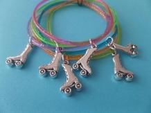 transparant rubber armbandje, keuze uit diverse kleuren