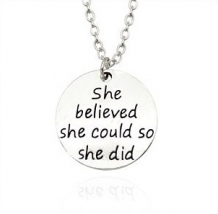 she believed she could so she did ketting