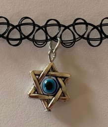 tattoo choker star evil eye